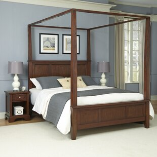 Borden Canopy 3 Piece Bedroom Set by Three Posts Read Reviews