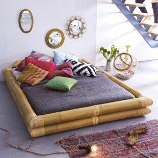 Balyss European King Bed Frame By Tikamoon