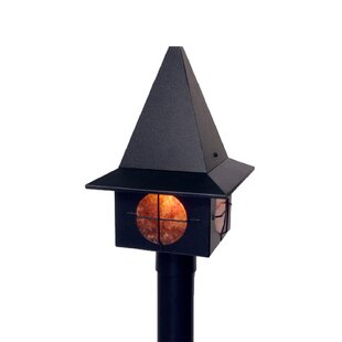 Robinette 1-Light Lamp Post by Millwood Pines