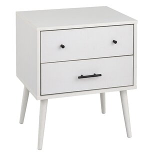 Grullon 2 Drawer Nightstand