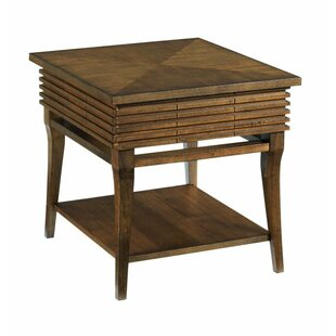 McManus End Table with Storage