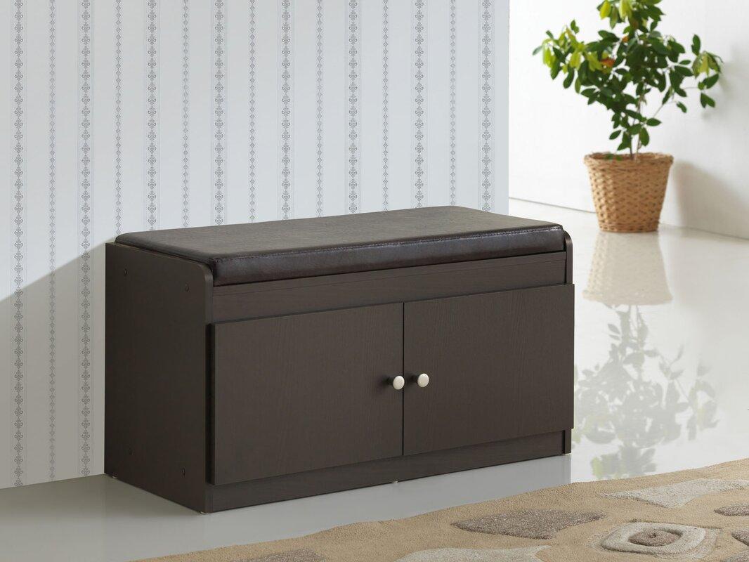 ingalls modern wood storage bench. winston porter ingalls modern wood storage bench  reviews  wayfair