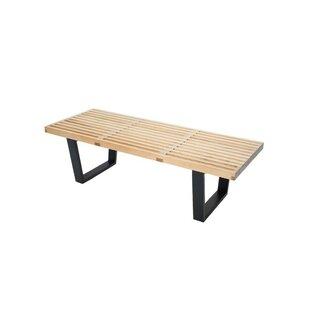 Deguzman Solid Wood Bench