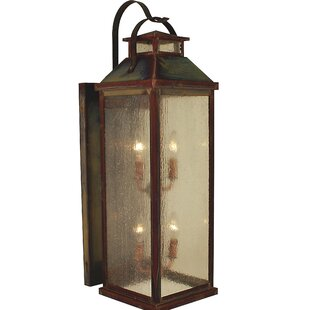 Canterbury 4-Light Outdoor Wall Lantern