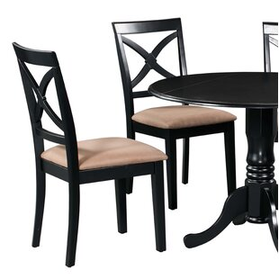 Fontinella Solid Wood Dining Chair (Set o..