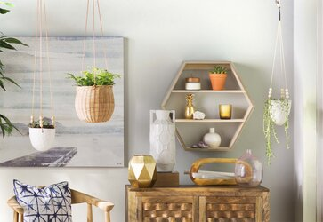 Charming Top Rated Display + Floating Shelving