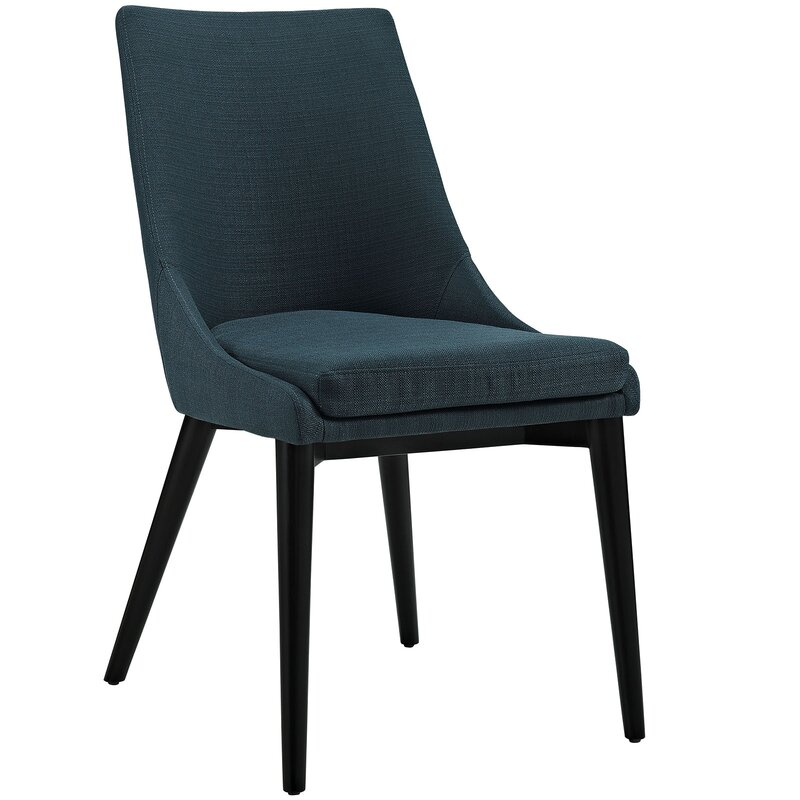 Carlton Wood Leg Upholstered Dining Chair & Reviews ...