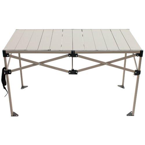Stupendous Gear Roll Top Folding Aluminum Camping Table Creativecarmelina Interior Chair Design Creativecarmelinacom