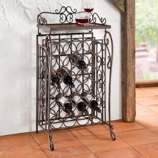 24 Bottles Floor Wine Rack by Pier Surplus