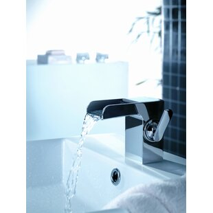 Artos Kascade Single Hole Waterfall Bathroom Sink Faucet with