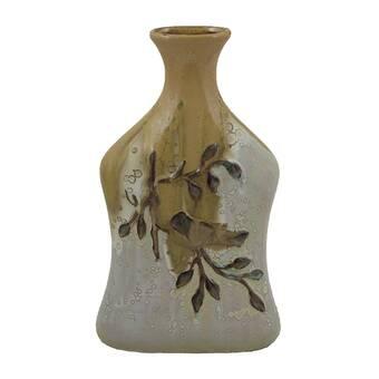 Bloomsbury Market Blasco Gourd Small Table Vase Wayfair