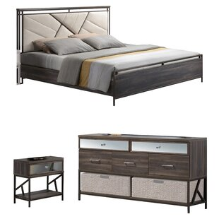 Welker Panel Configurable Bedroom Set