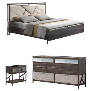 Welker Panel Configurable Bedroom Set