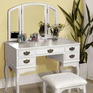 Canora Grey Holmwood Vanity Set with Mirror