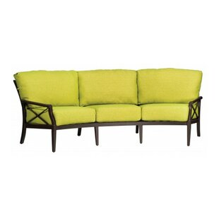 Woodard Andover Crescent Sofa with Cushions