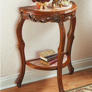 Lady Julietu0027s Marble Topped Console Table