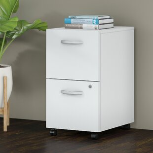 Bush Business Furniture Studio C 2-Drawer Mobile Vertical Filing Cabinet