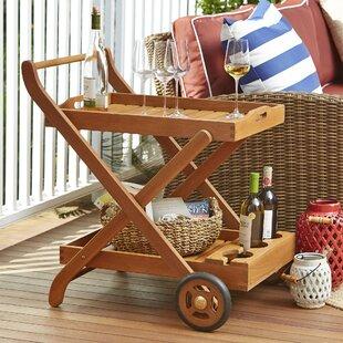 Diogo Eucalyptus Bar Serving Cart by Birch Lane™ Heritage