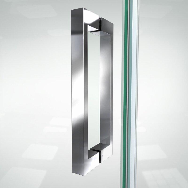 Dreamline Elegance Ls 51 X 72 Pivot Frameless Shower Door Wayfair