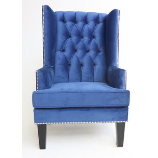 Estes Wingback Chair by Rosdorf Park