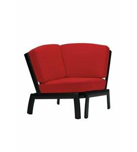 South Beach Corner Module Chair with Cushion by Tropitone
