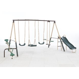 XDP Recreation Natural Playland Crestview Swing Set