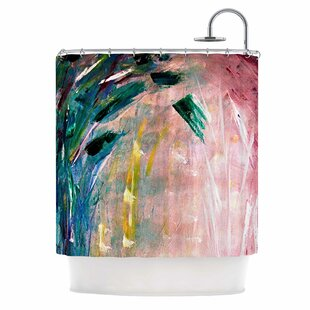 'Journey' Painting Single Shower Curtain