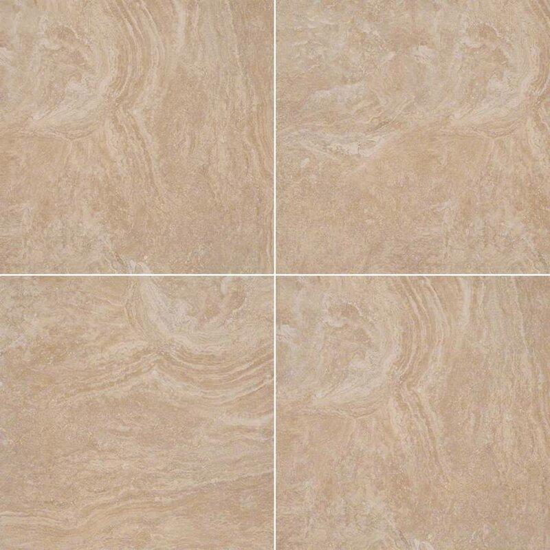Msi Calypso 20 X 20 Ceramic Field Tile In Beige Wayfair