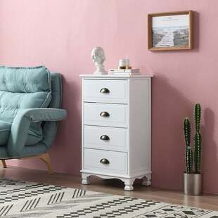Allyson 4 Drawer Chest By Marlow Home Co.