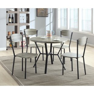 Merrifield 5 Piece Round Dining Set by Williston Forge Purchase