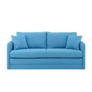 Alverez Convertible Sleeper Loveseat Wrought Studio