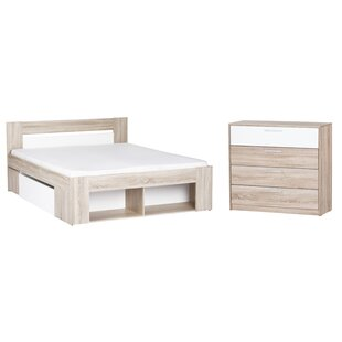 Duren Queen Platform Configurable Bedroom Set by Ivy Bronx Wonderful