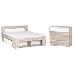Duren Queen Platform Configurable Bedroom Set