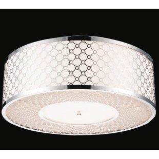 CWI Lighting 4-Light Flush Mount