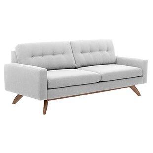 Luna 84 Standard Sofa by TrueModern