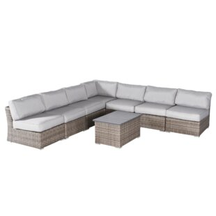 Huddleson 8 Piece Sectional Seating Group with Cushions