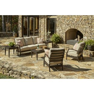 Klaussner Furniture Cerissa 6 Piece Sunbrella Sofa Set with Cushions