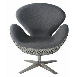 Brayden Studio Leddy Swivel Lounge Chair