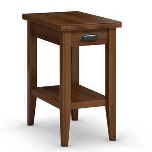 Downtown Chairside Table with Drawer