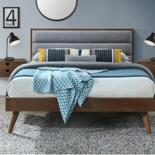 Breaux Queen Upholstered Platform Bed by George Oliver