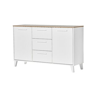 Vasily 3 Drawer Combi Chest By Ebern Designs