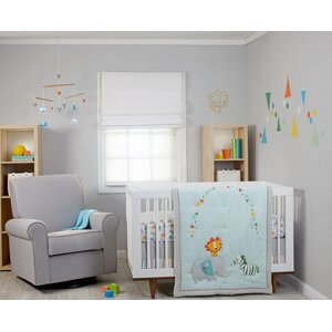 Juba 5 Piece Crib Bedding Set