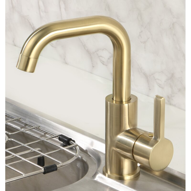 Yzzy Single Hole Bathroom Faucet Reviews Wayfair