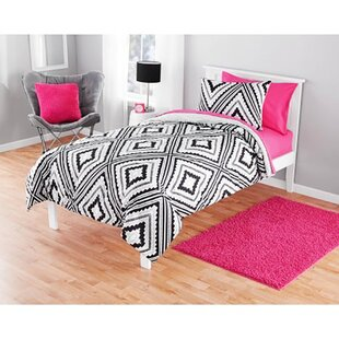 Korey Reversible Comforter Set