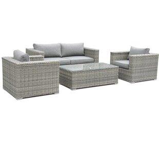 Discount Sandringham 4 Seater Sofa Set