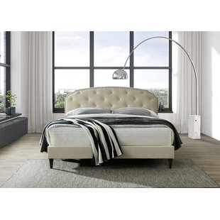 Provencal Upholstered Platform Bed By Fleur De Lis Living