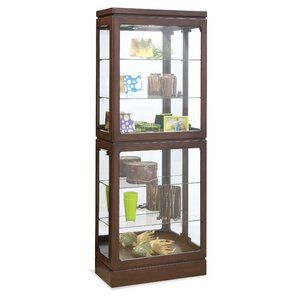 Breckenridge I Lighted Curio Cabinet by P..