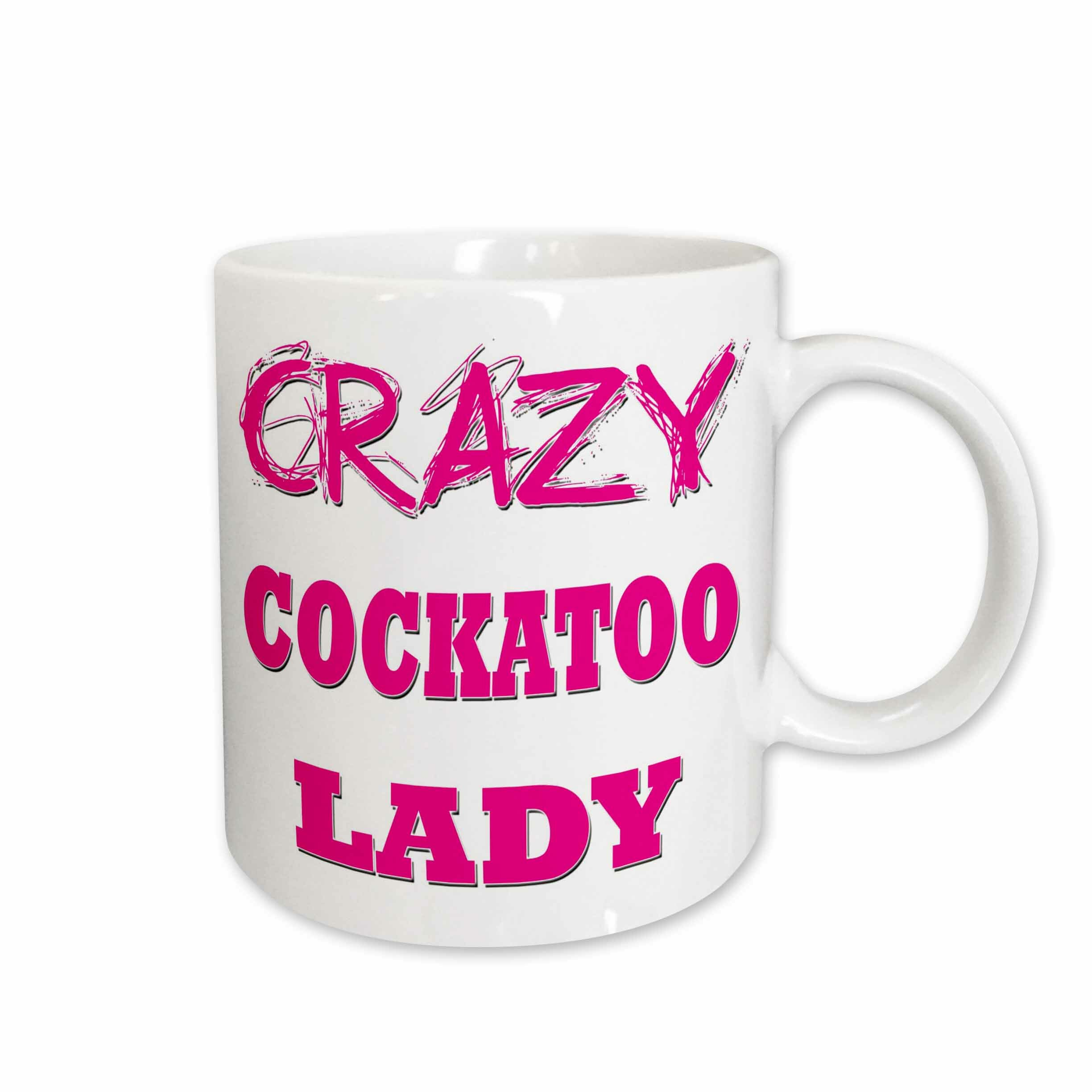 East Urban Home Crazy Cockatoo Lady Coffee Mug Wayfair