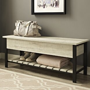 Savon Open Top Wood Storage Bench