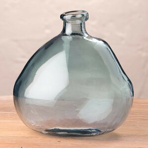 askew recycled glass balloon vase